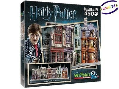 Harry Potter Diagon Alley Wrebbit Puzz 3D Chemin Traverse New Jigsaw Puzzle