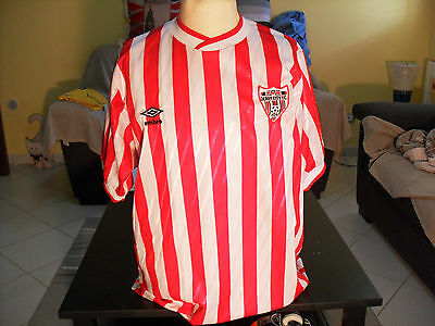 Shirt football Derry city 1988 home original umbro vintage rare size L