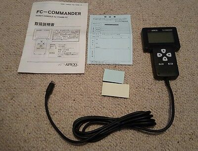 *new* Apexi Power Fc Hand Controller Fcc3 Commander Instructions Manual