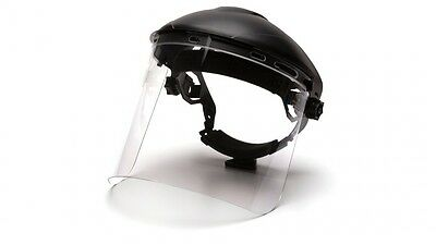Pyramex S1210 Cylinder Polycarbonate Face Shield Clear - Case of 50