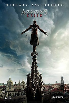 Assassin's Creed - A4 Glossy Poster -TV Film Movie Free Shipping #42