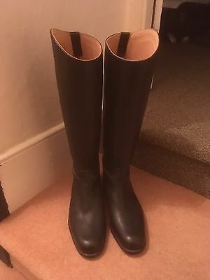 New Regent Leather Riding Boots