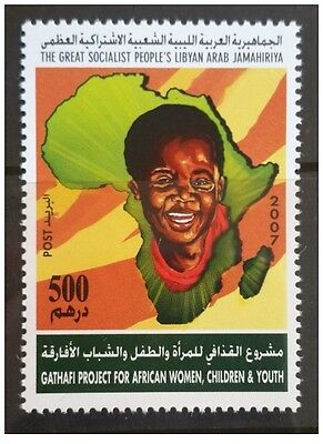 2007- Libya- Gaddafi Project for health care & economic challengeof African wome