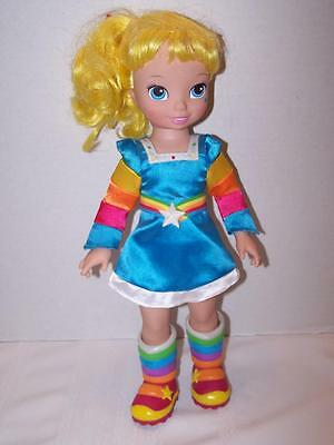 "2009 Hallmark Playmates Doll Rainbow Brite Bright Vinyl 15"" Pre-owned"