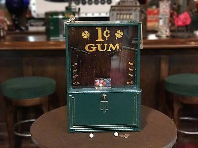 "1930 JIMMIE'S 1 Cent Gum Ball Trade Stimulator ""WATCH VIDEO"""