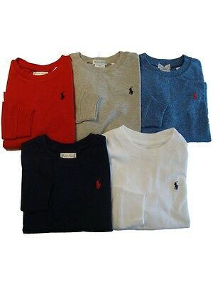 Ralph Lauren Polo baby boys small Pony long sleeve T Shirt top 9, 12, 18 , 24 m