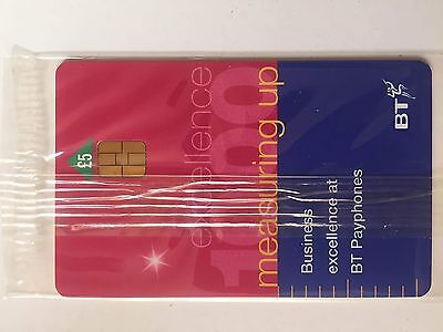 BT Phonecard - £5 - Measuring Up Excellence