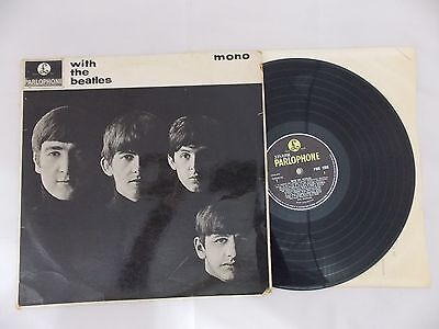 The Beatles. With The Beatles. Pmc 1206 Mono 1St Pressing Xex-447-1N Xex-448-1N