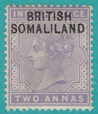 Somaliland Protectorate  3 1903 Mint Hinged Og * No Faults Extra Fine