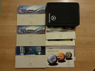 Mercedes Benz SLK Owners Handbook/Manual and Wallet 04-08