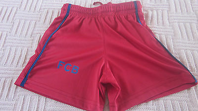 Barcelona football shorts,age 2