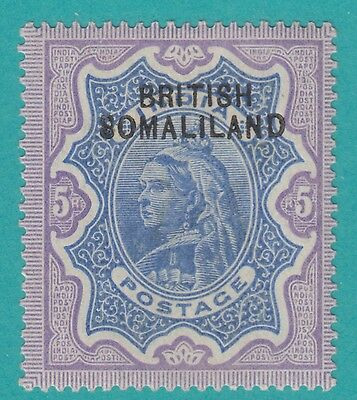 Somaliland 13  Stolow Expert Ink Mark  1903 Mint Hinged Og * No Faults Superb !