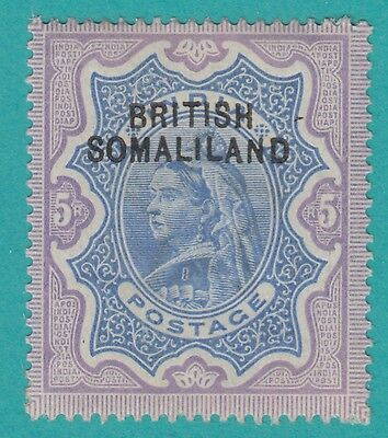 """SOMALILAND PROTECTORATE 12d  SG 13a  """"curved overprint """" variety Rare £750"""