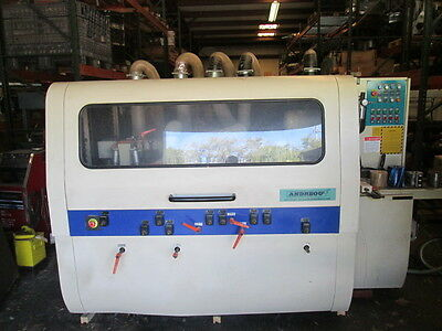 Andreou Machinery MB4015X5 4 Sided Wood Moulder 5 Head Max W 150mm  WE SHIP