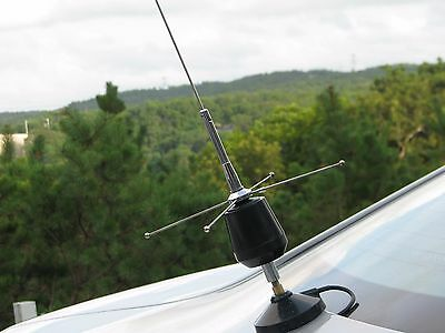 "TallBoy high performance CB +10m Mobile Whip ANTENNA w/Gain 3/8""x24 57"" Truck RV"
