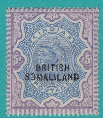 "SOMALILAND PROTECTORATE 19  NO FAULTS MH OG* EXTRA FINE ! Broken "" O"" Error !"