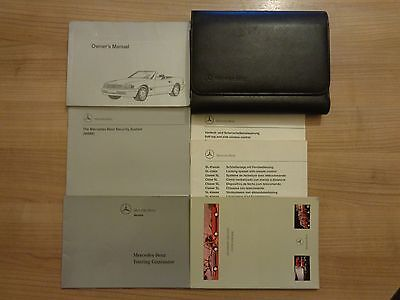Mercedes SL R129 Owners Handbook/Manual and Pack