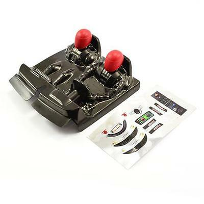 FTX Outlaw Driver Cockpit W/Red Decals - FTX8337R
