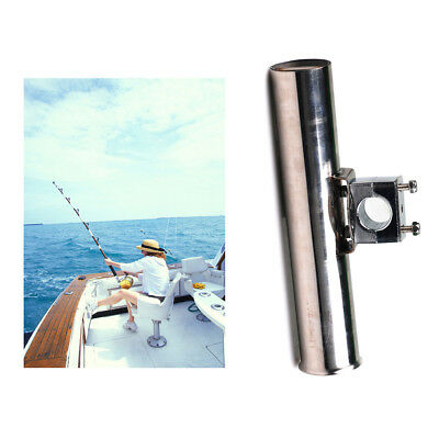 Marine Boat Fishing Clamp On Rod Holders Rest Tackle Mount for Rails 19-25mm