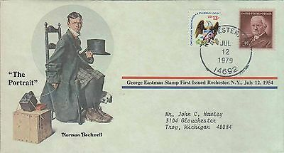 1979 - Norman Rockwell - Commemorative Society - The Portrait
