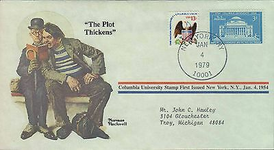 1979 - Norman Rockwell - Commemorative Society - The Plot Thickens