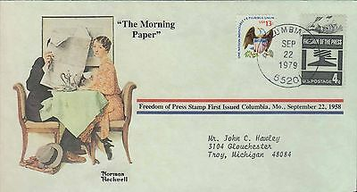 1979 - Norman Rockwell - Commemorative Society - The Morning Paper