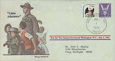 1978 - Norman Rockwell - Commemorative Society - Little Admirers
