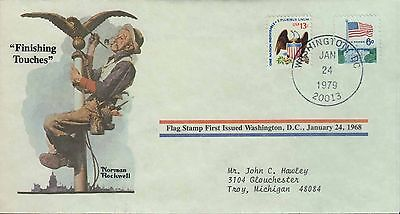 1979 - Norman Rockwell - Commemorative Society - Finishing Touches