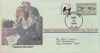 1979 - Norman Rockwell - Commemorative Society - Modern Miracles
