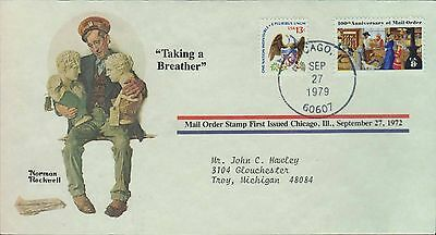 1979 - Norman Rockwell - Commemorative Society - Taking A Breather
