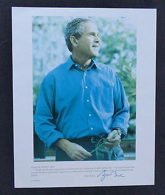 Signed Photo - President George W. Bush From Republican National Committee (Rnc)