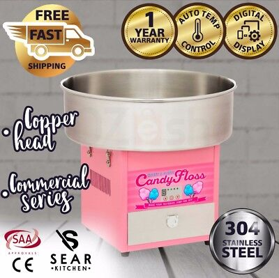 SEAR Electric Fairy Floss Machine Cotton Candy Maker Commercial