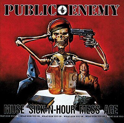 Public Enemy - Muse Sick-N-Hour Mess Age - Public Enemy CD IBVG The Cheap Fast