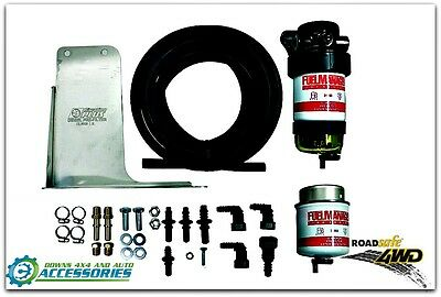 Fuel Manager Diesel Fuel Pre-Filter Kits to Suit Mitsubishi Triton 2.5/3.2Ltr