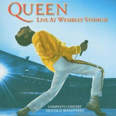 QUEEN - Live at Wembley - QUEEN CD IIVG The Cheap Fast Free Post The Cheap Fast