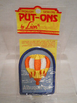 Vintage - Albuquerque -  Embroidered Emblem Patch Souvenir - New Old Stock