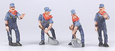 4 Marklin Maxi 1 Gauge US Prototype Figures,  New from Sets