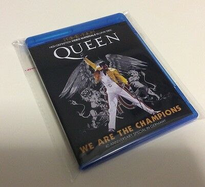 Queen We Are The Champions Two Blurays