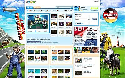 PHP Professionelles Flash Game Portal - Smeetr Script | Top Design | Ranking