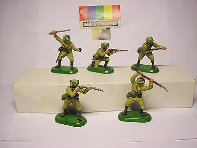 Soldatini Toy Soldiers Britains 1971 Giapponesi WW II scala 1:32