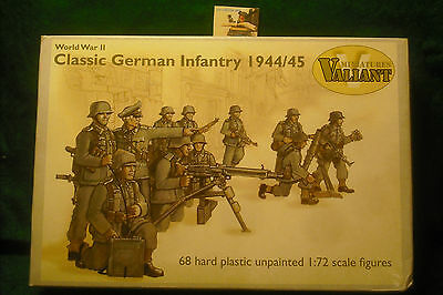 Soldatini Toy Soldiers Valiant Min. German Infantry 1944/45 plastica scala 1:72
