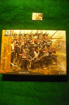 Soldatini Toy Soldiers Waterloo 1815 Fanteria Polacca Ref. AP008 sc. 1:72