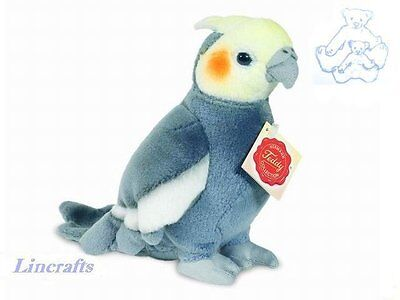 Cockatiel Plush Soft Toy Parakeet Bird by Teddy Hermann from Lincrafts. 94109
