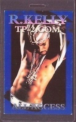 R. KELLY Laminated Backstage Pass AA collectible
