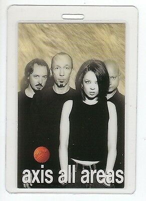 GARBAGE Laminated Backstage Pass AXIS ALL AREAS PERRI collectible