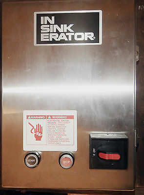 InSinkErator Commercial Disposer Garbage Disposal Control Center  CC-101K- 2