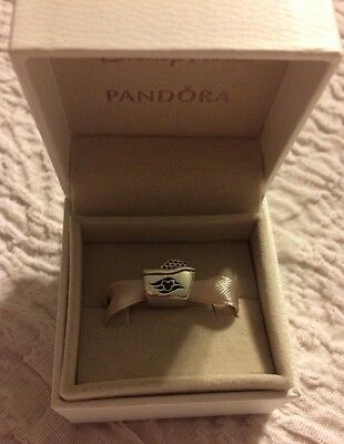 New Ship DCL Pandora Charm Bead Disney Cruise Line .925 Silver