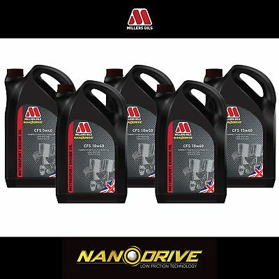 Millers Oils CFS Nanodrive Fully Synthetic Race / Motorsport Car Engine Oil