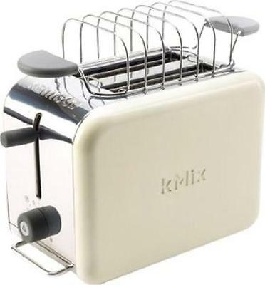 New Kenwood Kmix TTM020A 2 Slice / Slot Almond Cream Toaster