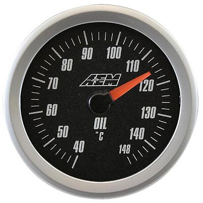 AEM Analog Oil/Transmission/Water Temperature Gauge 40-148 Degrees - 30-5140M
